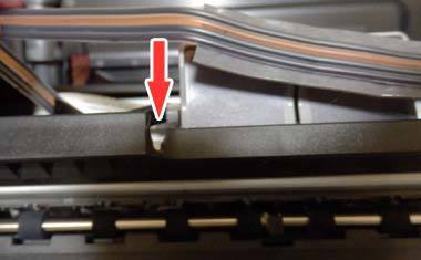 iP2700 CISS ホース装着