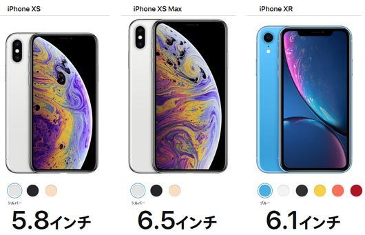 iPhone XS/XS Max/XR