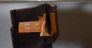 iP2700 CISS カートリッジのインク漏れ