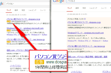 Google Adwords広告