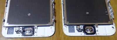 iPhone6s 2台 ボタン交換